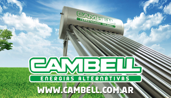 Termotanques Solares Cambell